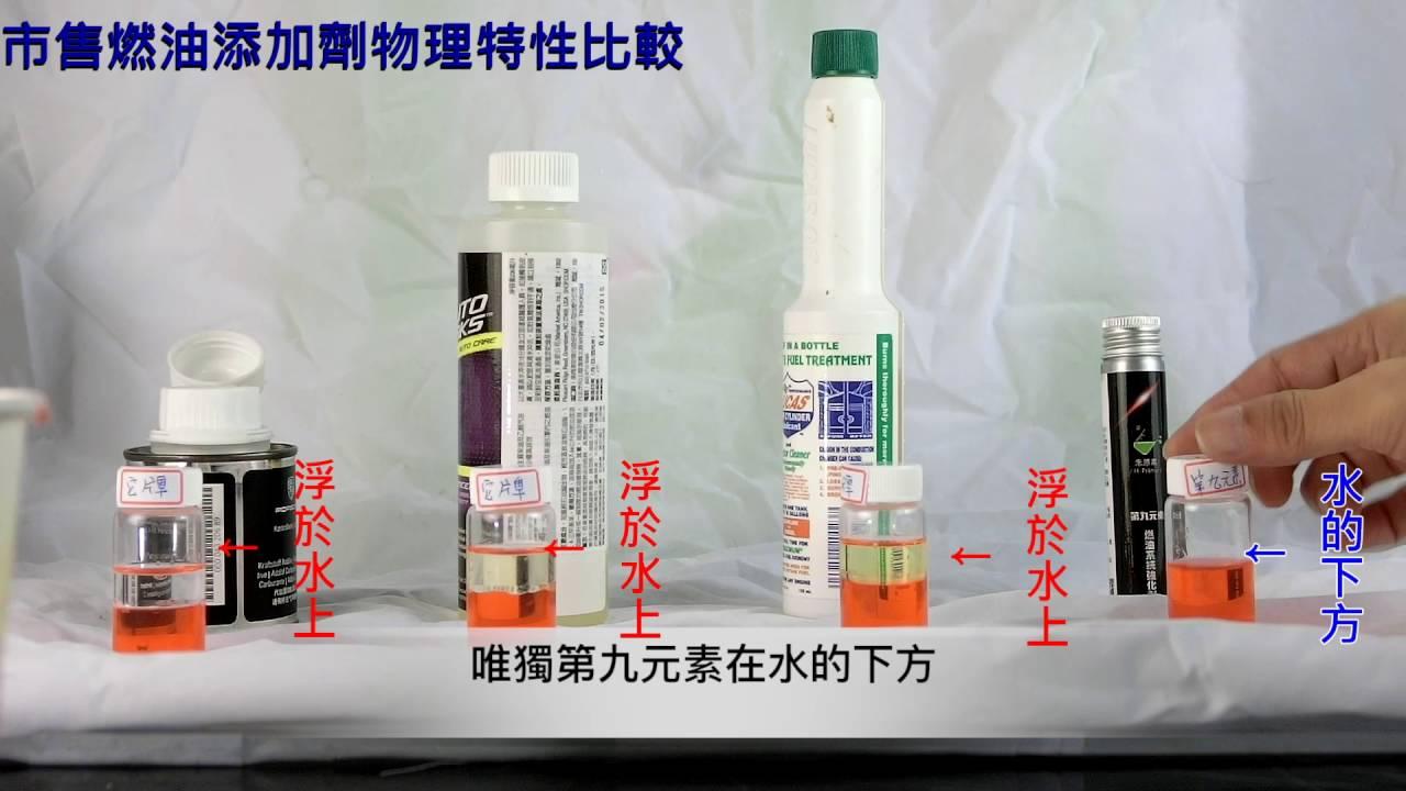 市售燃油添加劑測試比較 - YouTube