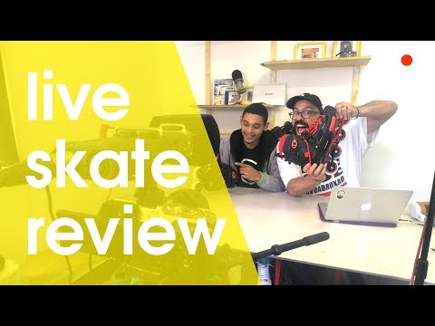 PLAYLIFE LEGION URBAN INLINE SKATE REVIEW LIVE FROM LINO SKATE SHOP
