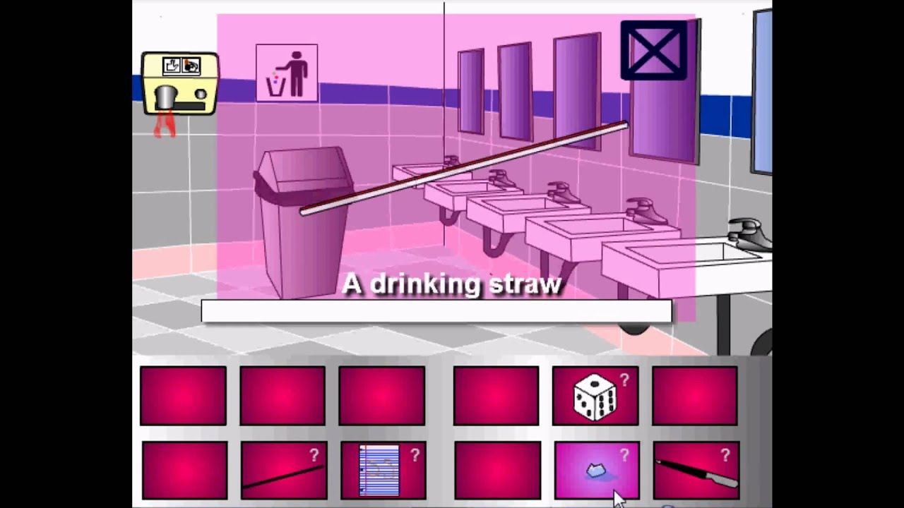 Escape The Ladies Bathroom Walkthrough escape the ladies room walkthrough - youtube