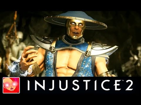 Injustice 2 - Raiden & Black Lightning Trailer Revealed [LIVE]