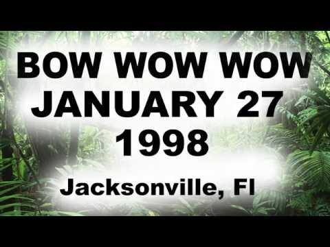BOW WOW WOW  jacksonville, Florida LIVE MILK BAR MINIDISC AUDIO JANUARY1/27/1998