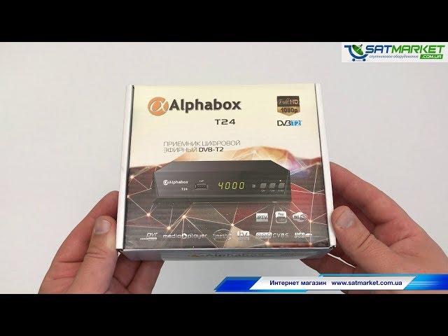 Видео обзор Alphabox T24