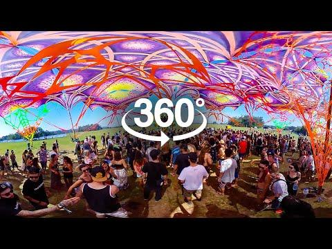 [ VR 360º ] Earthdance Festival 2018   AfterMovie 360º Completo