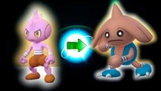 Как получить покемона Hitmontop при эволюции Tyrogue Покемон Го Выпуск 114