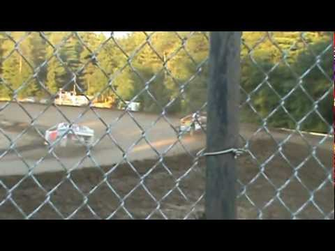 2012 ALBANY SARATOGA SPEEDWAY BILLY PAUCH JR & JIMMY PHELPS BIG SHOW 4 HEAT RACE DIRTcar SERIES