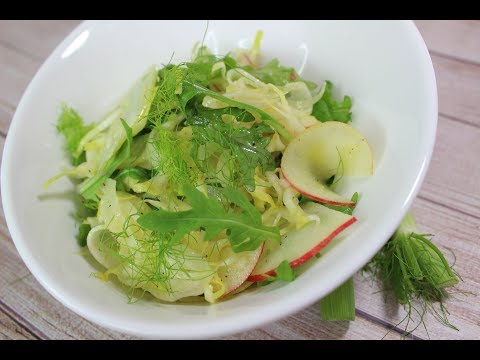 Fennel,Endive and Apple Salad