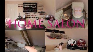 My In-Home Salon Tour