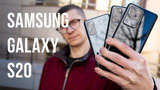 Samsung Galaxy S20/S20+/S20 Ultra: First look (review română)