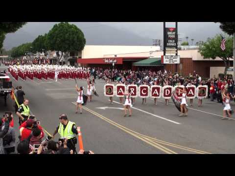 Arcadia HS - The Conqueror - 2013 Arcadia Band Review