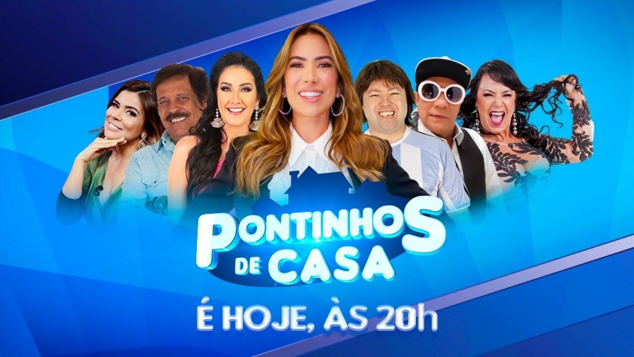 Live Pontinhos em Casa | Programa Silvio Santos (23/09/20)