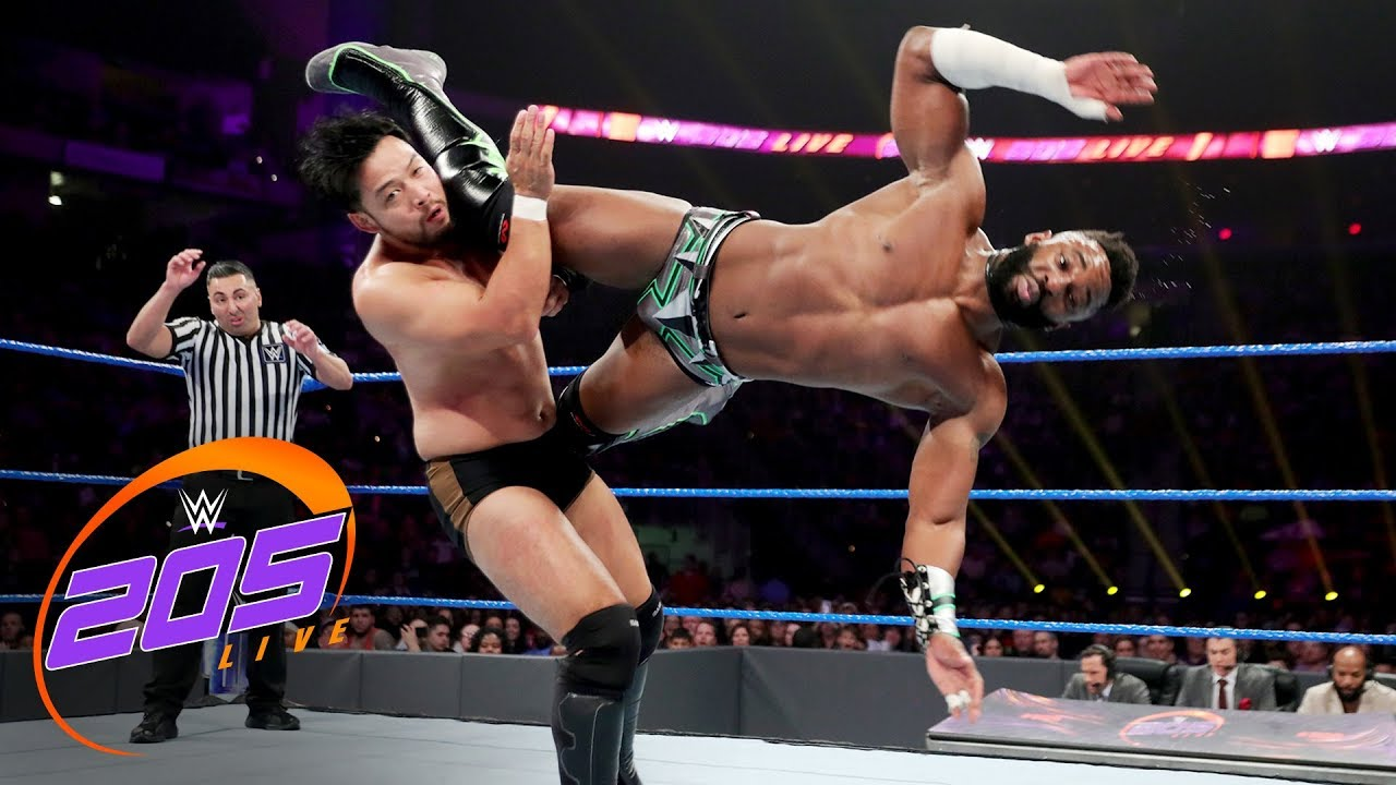 Cedric Alexander vs. Hideo Itami: WWE 205 Live, Jan. 9, 2019