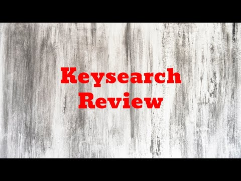 Keysearch Review Ultimate Keyword Planner and Research Tool