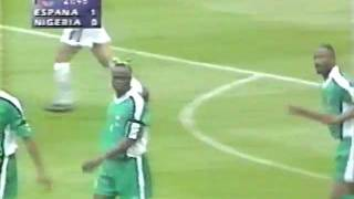 Spain vs Nigeria 1998 World Cup Match
