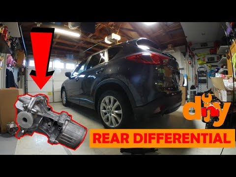 DIY – How to replace rear differential on Mazda CX5