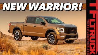 Breaking News - New 2020 Nissan Titan Gets More Power & New Interior!