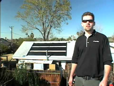 Fafco Solar Hot Water Heater Youtube