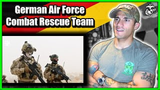 Marine reacts to German Air Force Combat Rescue Team