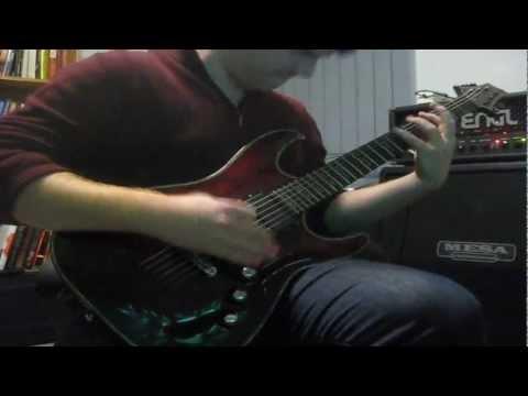 The Guillotine  Escape the Fate guitar