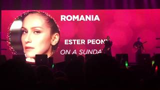 Romania Eurovision 2019 Ester Peony - On A Sunday - Eurovision in Concert