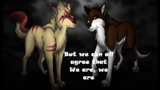 Anime wolves   We are family Lyrics