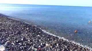 В Солониках, на море. Погода в Лазаревском 22 августа t +23°C, вода t +28°С, SOCHI RUSSIA(Сегодня с утра я в Солониках, на море. Погода в Лазаревском 22 августа t +23°C, вода t +28°С. Мы, местные очень любим..., 2014-08-22T10:08:05.000Z)
