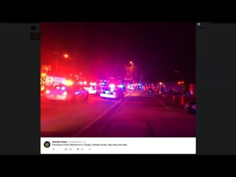 'Mass Casualties' In Florida Gay Club Attack, Shooter Dead