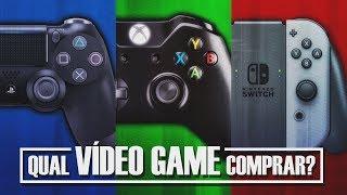 DREY no PLAY | Qual Vídeo Game Comprar? PS4, Xbox One ou Nintendo Switch?