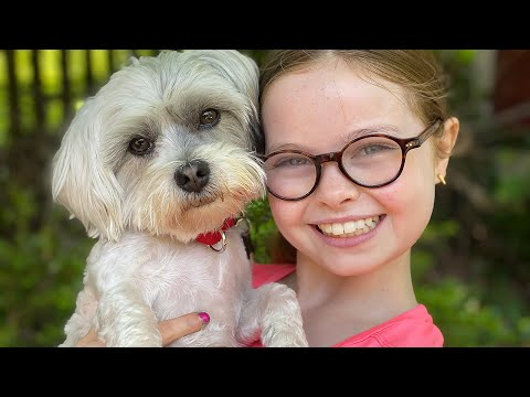 10-Year-Old Has Only 10 Minutes to NAME HER PUPPY... or her brother will!