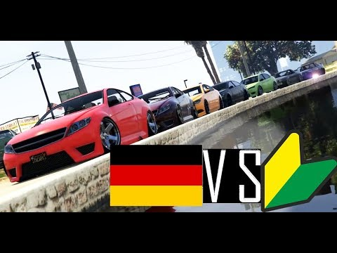 INSANE!!! JDM vs German Car Meet In GTA 5 Online