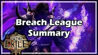 [Path of Exile] Breach League Summary