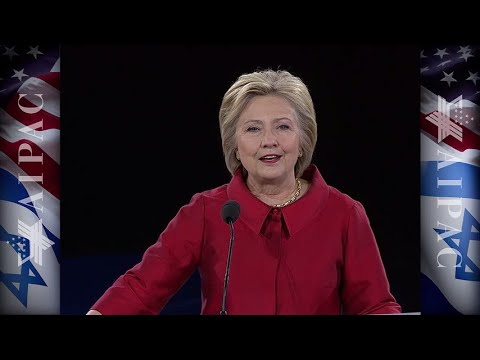 Hillary Clinton Remarks at AIPAC's 2016 Policy Conference