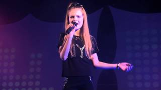 MEGHAN TRAINOR - ALL ABOUT THAT BASS performed by ELLA BROWN at the Dewsbury Area Final of Open Mic