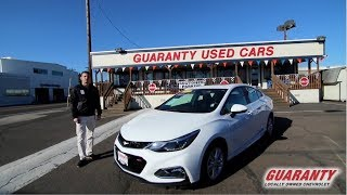 2017 Chevy Cruze LT • GuarantyCars.com