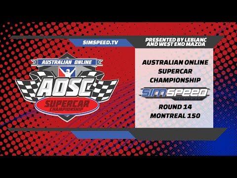 LeBLANC Australian Online Supercar Championship     Round 14     Montreal 150