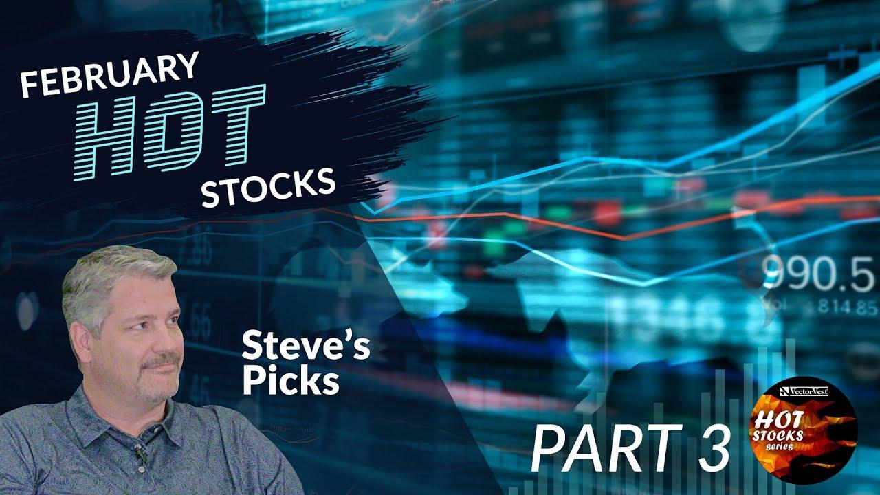 HOT Stocks for Swing Trading - Steve's Picks   VectorVest ...