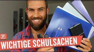 Schulsachen für ein 1,0er-Abitur - BACK TO SCHOOL