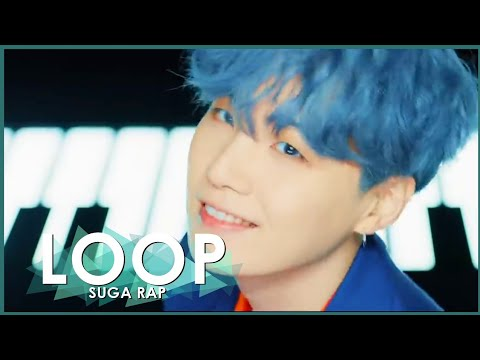 Suga Rap Time Bts Boy With Luv Loop In 10 Minutes Youtube