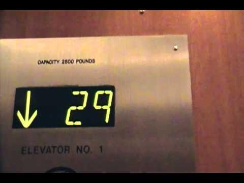 Otis Scenic High Speed Elevators at the Coast Hotel Edmonton
