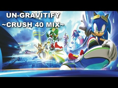 [SONIC KARAOKE] Sonic Riders Zero Gravity - Un-gravitify (Crush 40) [WATCH IN HD]