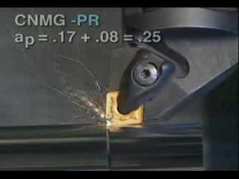 Sandvik Coromant Steel Turning Geometries