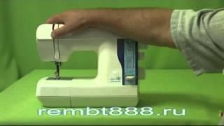 JAGUAR(Устройство швейной машины JAGUAR Compact 444. Управление, чистка, смазка, заправка верхней нити., 2012-10-17T09:26:55.000Z)
