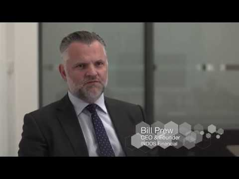 In conversation with Bill Prew, CEO of Indos Financial 2017