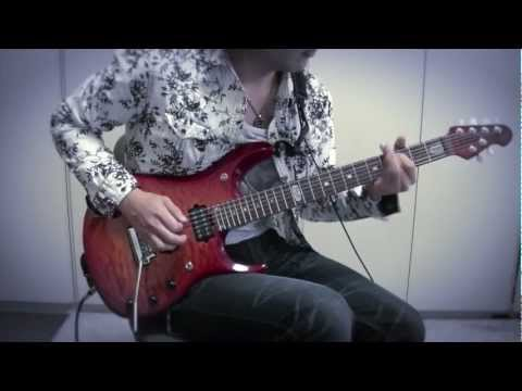"""Dream Theater """"As I Am"""" -Train of Thought- Guitar cover by Muneyuki"""