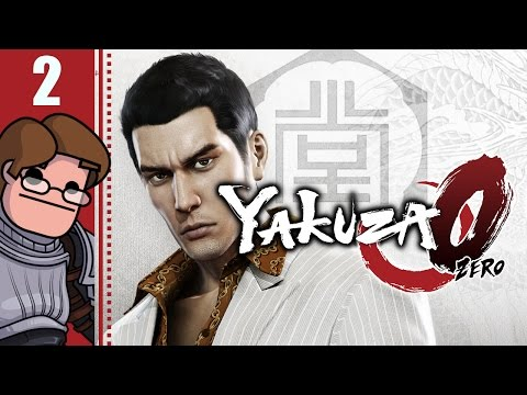Let's Play Yakuza 0 Part 2 - Karaoke Best Music Vol. 01