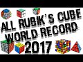 ALL RUBIK'S CUBE WORLD RECORD 2017!