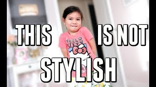 LET ME BE CLEAR. THIS IS NOT STYLISH! - January 13, 2018 -  ItsJudysLife Vlogs