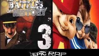 Repeat youtube video Darth Vader vs Adolf Hitler 3. Epic Rap Battles of History Season 3 CHIPMUNK'S version