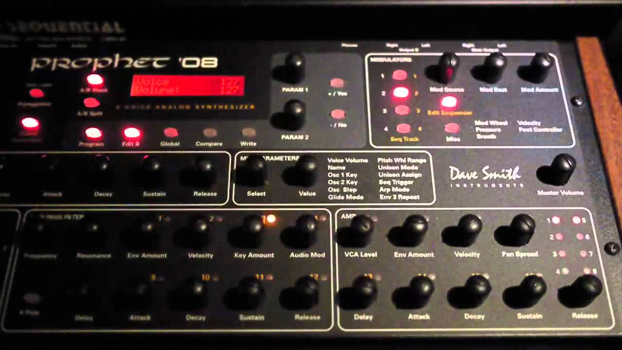dsi prophet 39 08 module advanced sequence youtube. Black Bedroom Furniture Sets. Home Design Ideas