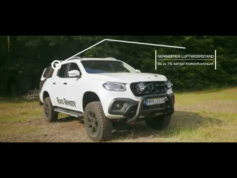 mercedes x klasse road ranger rh5 hardtop youtube. Black Bedroom Furniture Sets. Home Design Ideas