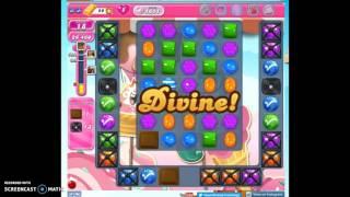 Candy Crush Level 1611 help, playthrough w/no audio